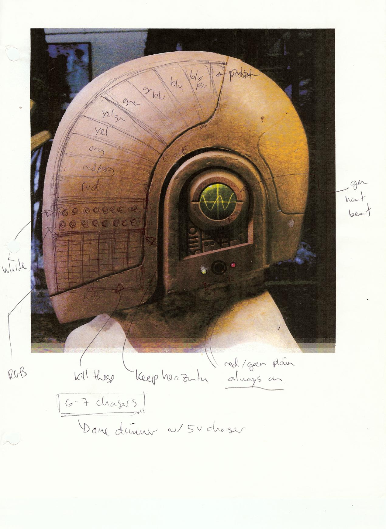 Daft Punk Guy & Space-Eight Robotics